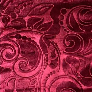 Other - Large Velvet Throw Pillow Cover